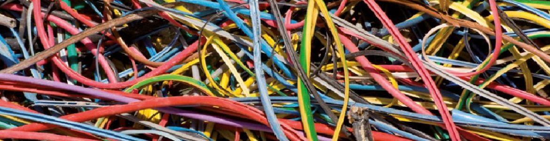 Лінія переробки відходів електричних кабелів